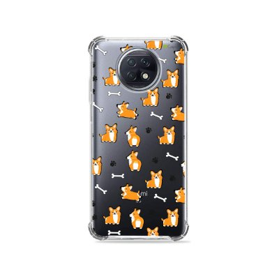 Capa (Transparente) para Xiaomi Redmi Note 9T - Cãozinho