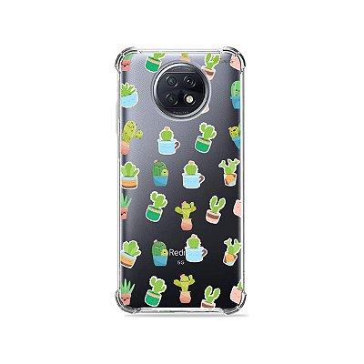 Capa (Transparente) para Xiaomi Redmi Note 9T - Cactus