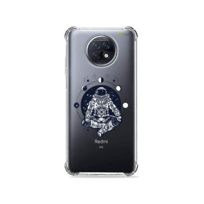 Capa (Transparente) para Xiaomi Redmi Note 9T - Astronauta