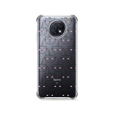 Capa (Transparente) para Xiaomi Redmi Note 9T - Catcorn