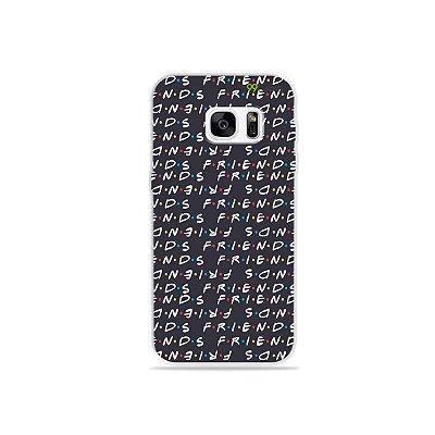 Capa para Galaxy S7 - Friends Letter