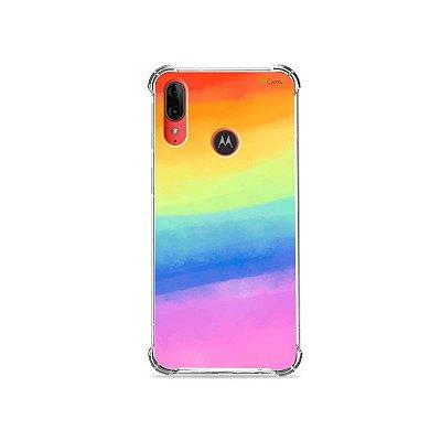 Capa para Moto E6 Plus - Rainbow