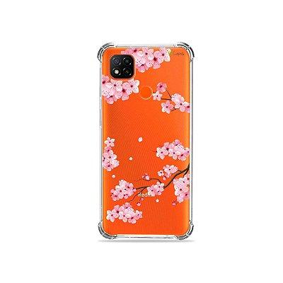 Capa (Transparente) para Redmi 9C - Cerejeiras