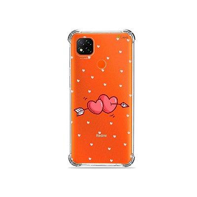 Capa (Transparente) para Redmi 9C - In Love