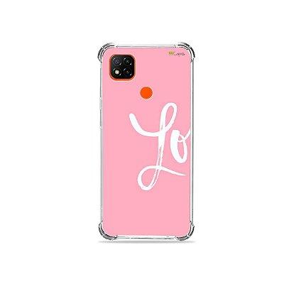 Capa para Redmi 9C - Love 1