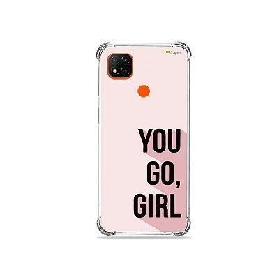 Capa para Redmi 9C - You Go, Girl