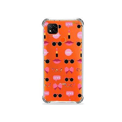 Capa (Transparente) para Redmi 9C - Girls