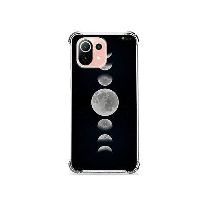 Capa para Xiaomi Mi 11 Lite - Fases da Lua