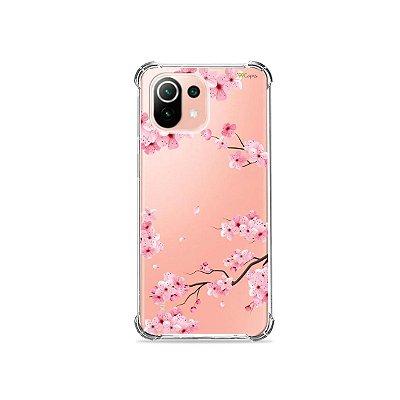 Capa (Transparente) para Xiaomi Mi 11 Lite - Cerejeiras