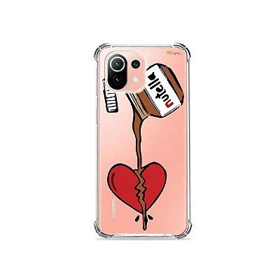 Capa (Transparente) para Xiaomi Mi 11 Lite - Nutella