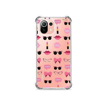Capa (Transparente) para Xiaomi Mi 11 Lite - Girls