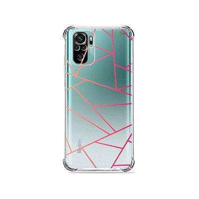 Capa (Transparente) para Xiaomi Redmi Note 10 4G - Abstrata