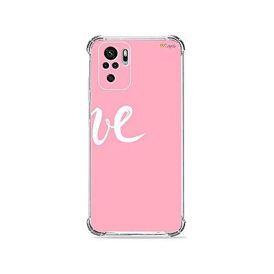 Capa para Xiaomi Redmi Note 10 4G - Love 2
