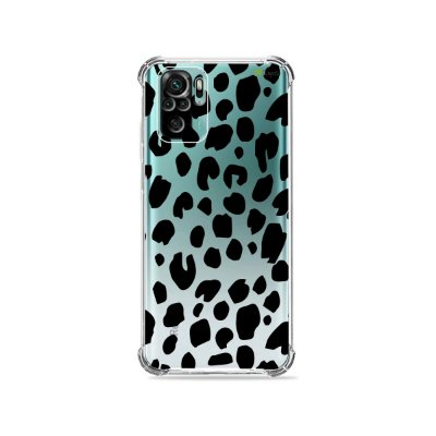 Capa (Transparente) para Xiaomi Redmi Note 10 4G - Animal Print Basic