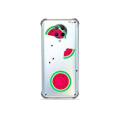 Capa (Transparente) para Xiaomi Poco F2 Pro - Melancias