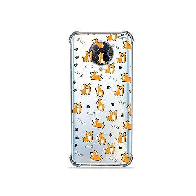 Capa (Transparente) para Xiaomi Poco F2 Pro - Cãozinho