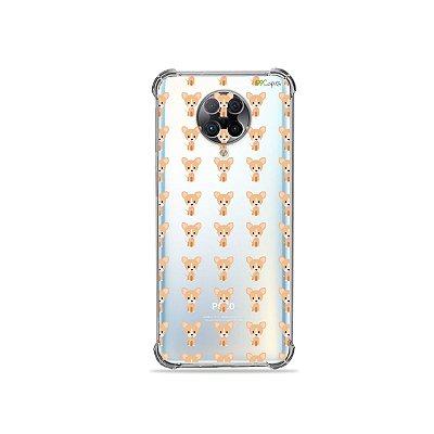 Capa (Transparente) para Xiaomi Poco F2 Pro - Chihuahua