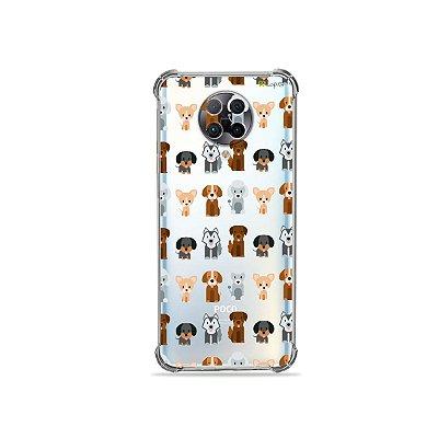 Capa (Transparente) para Xiaomi Poco F2 Pro - Doguinhos