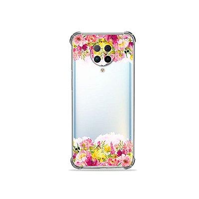 Capa (Transparente) para Xiaomi Poco F2 Pro - Botânica