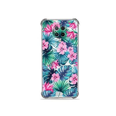 Capa (Transparente) para Xiaomi Poco F2 Pro - Tropical