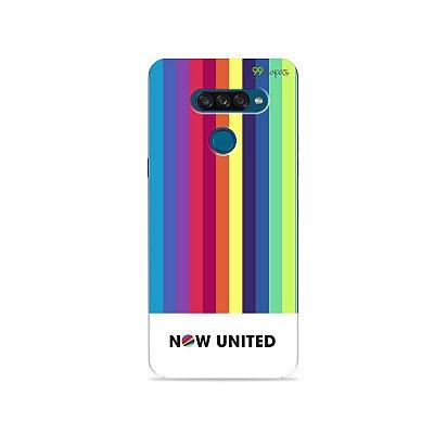 Capa para LG K50s - Now United 2