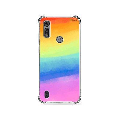 Capa para Moto E6I - Rainbow