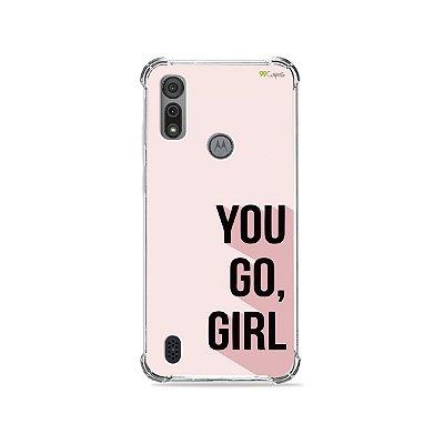 Capa para Moto E6I - You Go, Girl