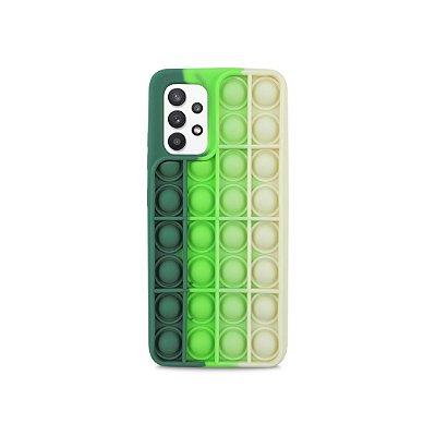 Capinha Fidget Toy para Galaxy A32 4G (Verde)