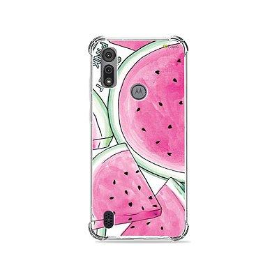 Capa para Moto E6I - Watermelon