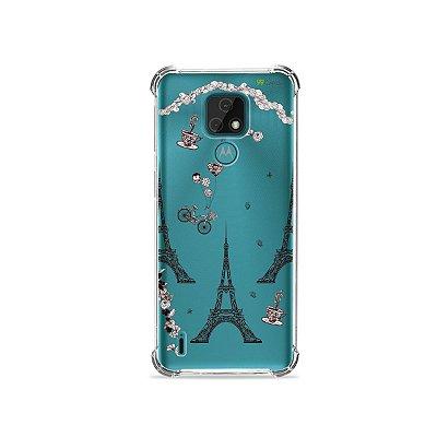 Capa (Transparente) para Moto E7 - Paris