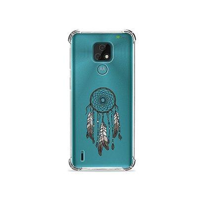 Capa (Transparente) para Moto E7 - Filtro dos Sonhos
