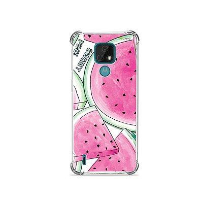 Capa para Moto E7 - Watermelon