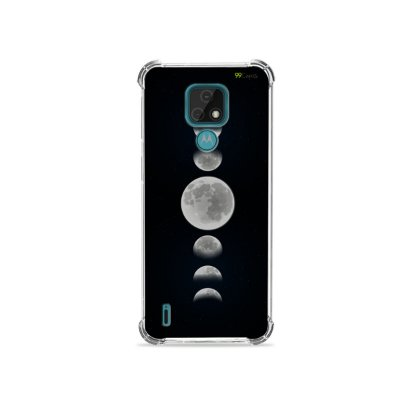Capa para Moto E7 - Fases da Lua