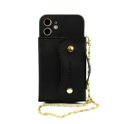 Case Pocket Preta (com alça) para iPhone 11 - 99Capas