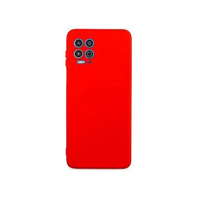 Silicone Case Vermelha para Moto G100