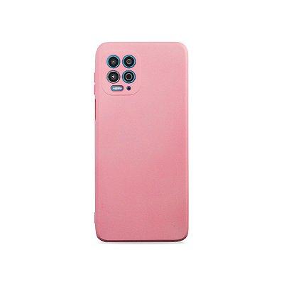 Silicone Case Rosa Claro para Moto G100