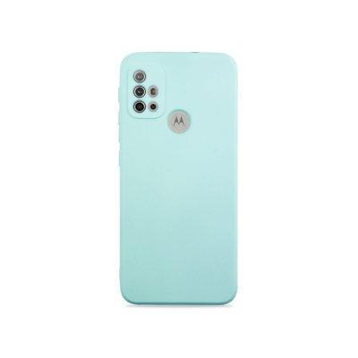 Silicone Case Azul Claro para Moto G30