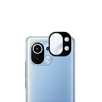 Película 3D de vidro para lente de câmera para Xiaomi Mi 11 Lite