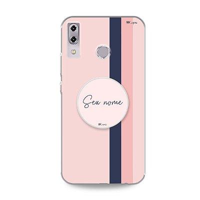 Kit Capinha Sweet + Pop com nome para Zenfone