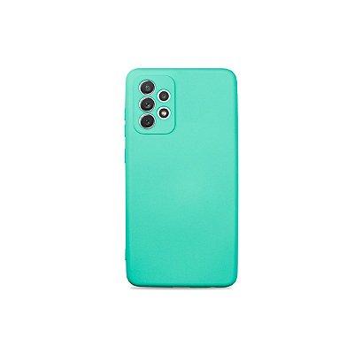 Silicone Case Azul Claro para Galaxy A72 - 99Capas