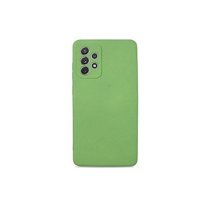Silicone Case Verde para Galaxy A72 - 99Capas