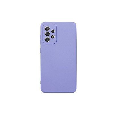 Silicone Case Lilás para Galaxy A72 - 99Capas