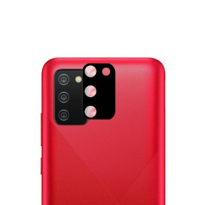 Película 3D de Vidro para lente de câmera para Galaxy A02s - 99Capas