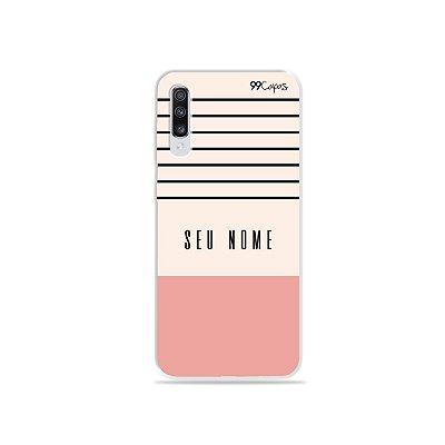 Capinha Basic com nome para Galaxy Note - 99Capas