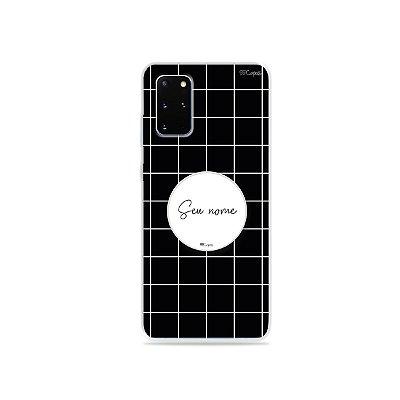 Capinha Basic P&B com pop para Galaxy S - 99Capas