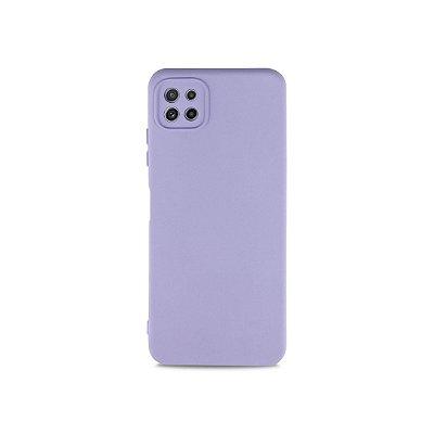 Silicone Case Lilás para Galaxy A22 5G - 99Capas