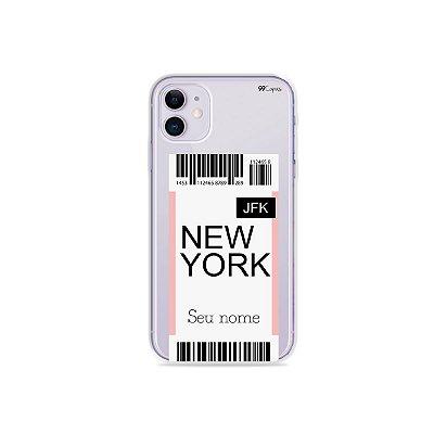 Capinha Ticket com nome para iPhone - 99Capas