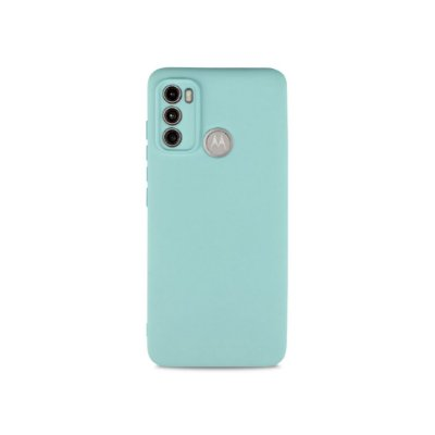 Silicone Case Azul Claro para Moto G60