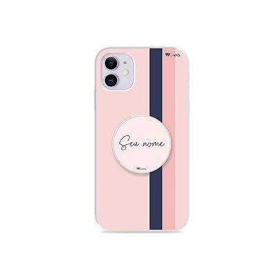Capinha Sweet + Pop com nome para iPhone - 99Capas