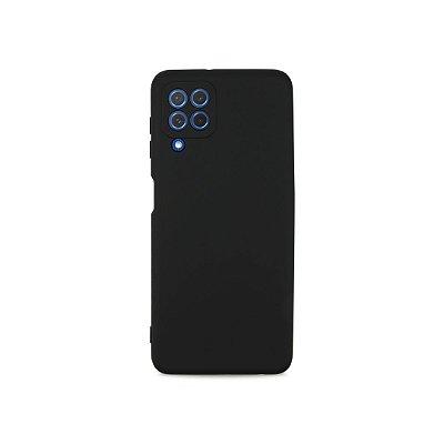 Silicone Case Preta para Galaxy A22 4G - 99Capas